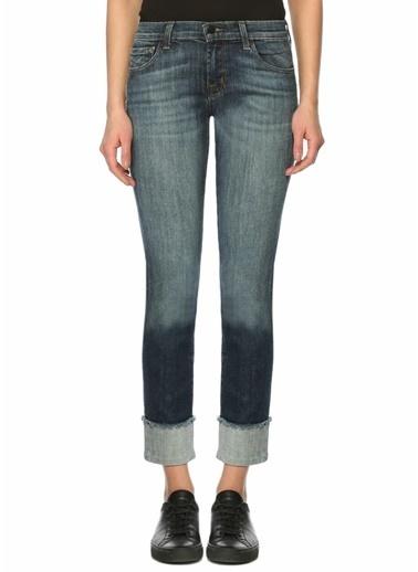 J Brand Düşük Bel Jean Pantolon Mavi